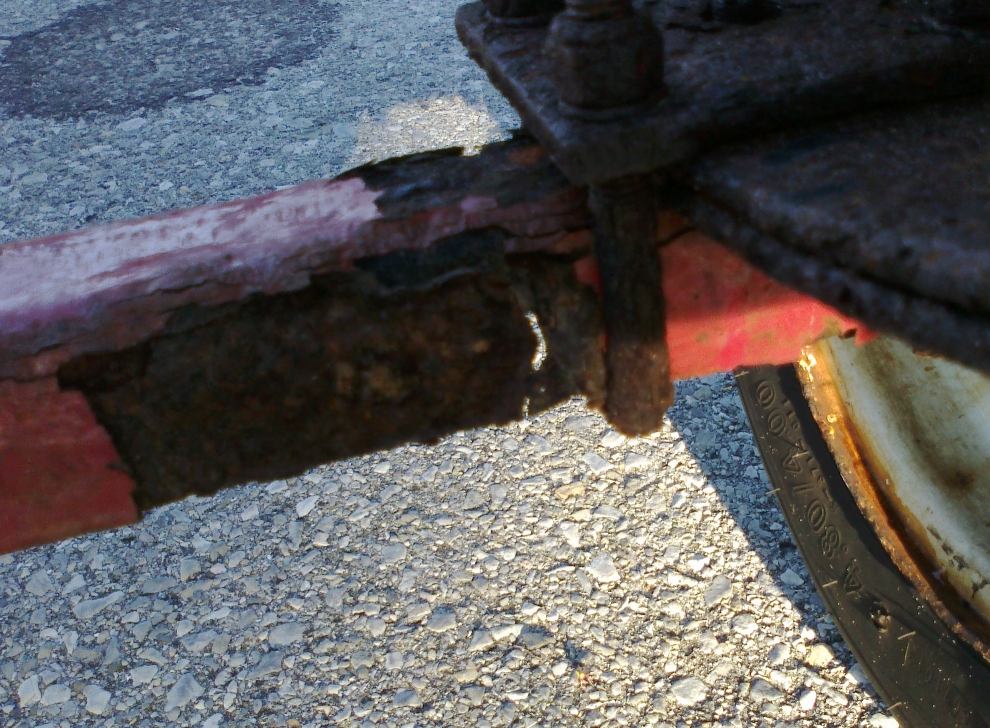 Harbor Freight 600 Boat Trailer Axle Rust Through Archive